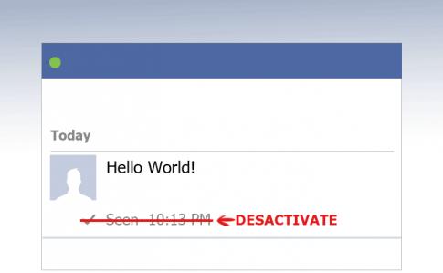 """Làm sao để tắt tính năng """"Seen"""" trên Facebook?"""