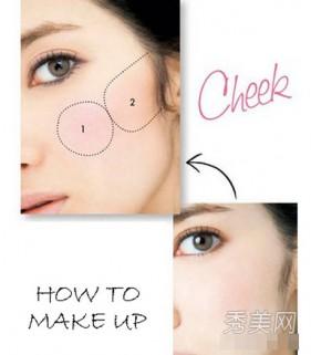 4 cách đánh má hồng xinh cho thiếu nữ