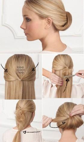 6 kiểu tóc búi vẫn đội được mũ bảo hiểm
