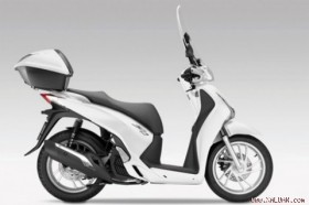 Ảnh chi tiết Honda SH 2013 bản châu Âu