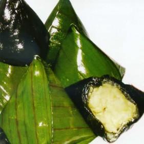 Bánh ít lá gai ở Bình Định