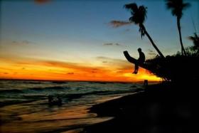Cảnh mặt trời lặn tuyệt đẹp của thế gian