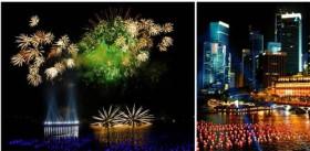 Du lịch Singapore - Đếm ngược năm mới 2014.