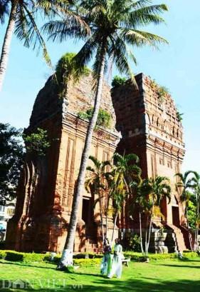 Ghé thăm giọt tháp Chămpa Bình Định