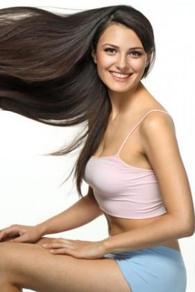 Giúp vợ khôi phục tóc đẹp mượt mà.