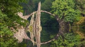 Những cây cầu đẹp lạ trên thế giới