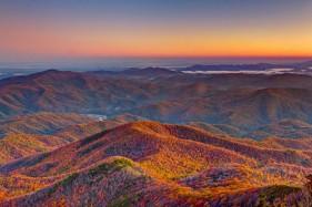 Thu sang lộng lẫy ở núi Smoky