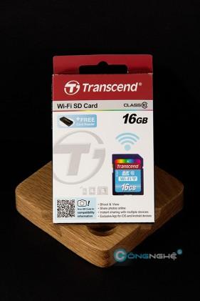 Transcend wifi SD card tương tác mọi lúc mọi nơi