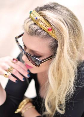 Tự làm bản sao của bờm tóc Dolce&Gabbana