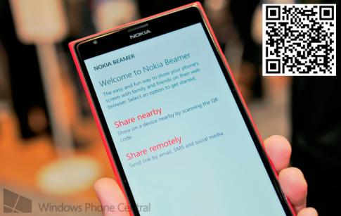 Mời tải về ứng dụng Nokia Beamer (dành cho máy Lumia)