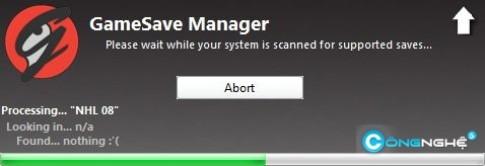 SaveGame Manager quản lý savegame dễ dàng hơn bao giờ hết
