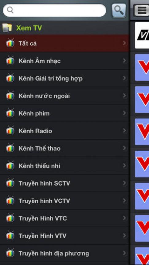 """""""XEM TV HD"""" ứng dụng XEM TV vs NGHE Radio trực tuyến MIỄN PHÍ"""