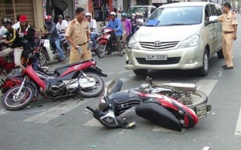 117 người chết vì tai nạn giao thông chỉ trong 5 ngày nghỉ lễ