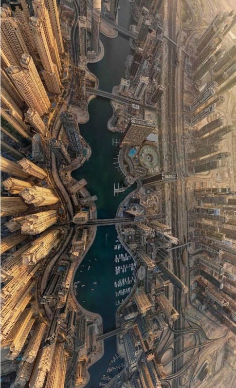 25 bức ảnh phong cảnh tuyệt vời từ trên cao