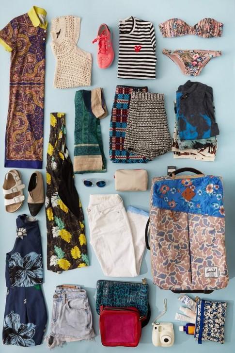 8 tips giúp bạn sắp xếp trang phục du lịch nhanh-gọn-nhẹ