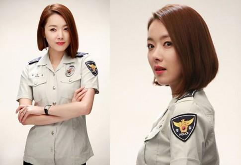 9 nữ cảnh sát xinh đẹp của màn ảnh Hàn