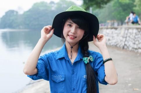 9 nữ sinh tình nguyện xinh nhất ĐH Bách khoa Hà Nội