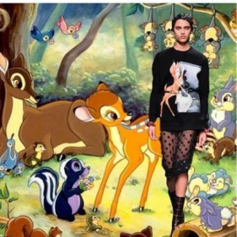 """Áo họa tiết Bambi """"phủ sóng"""" cộng đồng thời trang"""