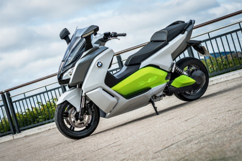 BMW C Evolution - scooter điện hạng sang