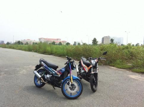 Bộ đôi Sonic tọa lạc trên đất Sài Gòn.