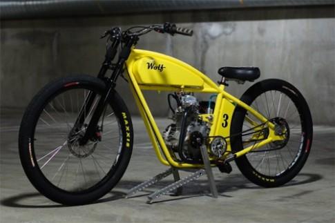 Board tracker-Xe đua độ phong cách xe gắn máy