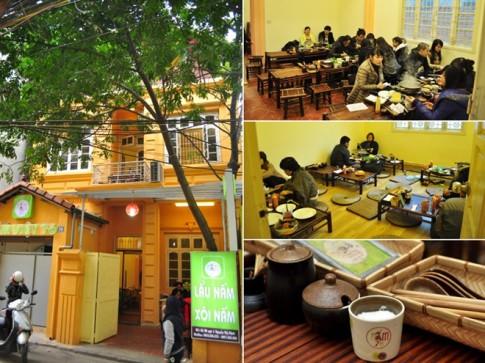 Bún nấm sườn sụn non, sữa ngô béo ngậy ở Nguyễn Thị Định