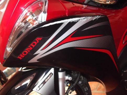 Cách Khắc phục các vết trầy xướt trên xe máy