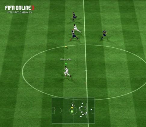 Cách kiểm soát hậu vệ không dâng lên tấn công trong FIFA Online 3