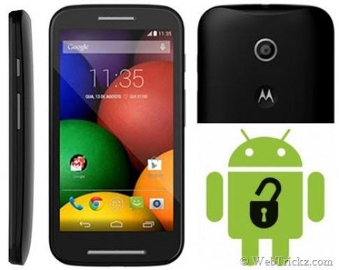 Cach mo khoa (Unlock) Bootloader cho Motorola Moto E don gian