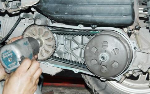 Cách phát hiện hỏng dây đai truyền động xe tay ga
