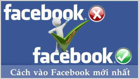 Cách vào Facebook tháng 5/2014 không cần phần mềm