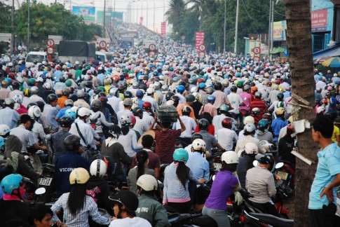 """[Cảm nhận] """"Văn hóa giao thông"""" ở Sài Gòn ngày nay"""