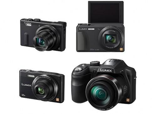 [CES 2014] Panasonic ra mắt 4 máy ảnh Lumix, zoom từ 12X - 42X