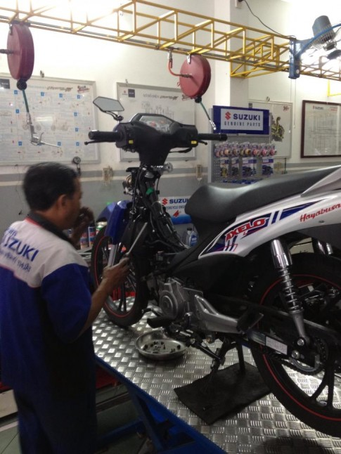 Chia Sẻ: Chỉnh Xăng Gió cho Suzuki Axelo 125cc