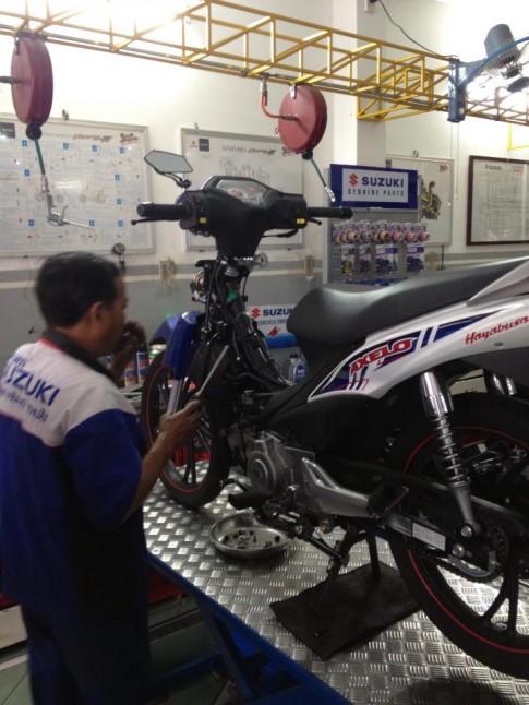 Chia Se: Chinh Xang Gio cho Suzuki Axelo 125cc
