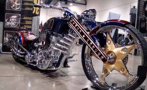 Chiêm ngưỡng dàn moto khủng ở lễ hội xe Las Vegas