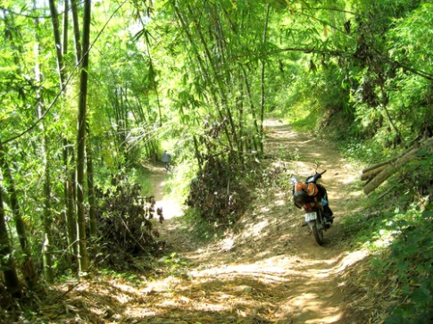 Chinh phục đường tre Suối Muống - Thanh Hóa