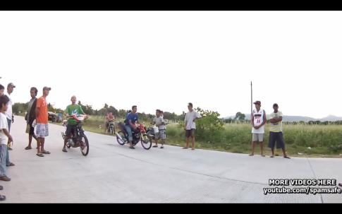 Clip đua Raider và CBR, Exciter bên Thái