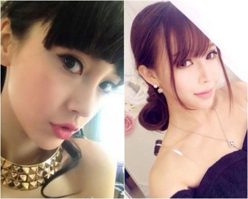 Cô gái đẹp tự nhiên giống hệt Angela Baby