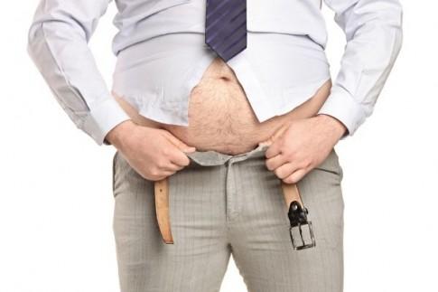 Đàn ông bụng càng to càng ít lăng nhăng