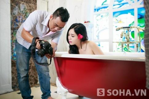 Đằng sau những bức ảnh nude của hot girl Hà Min