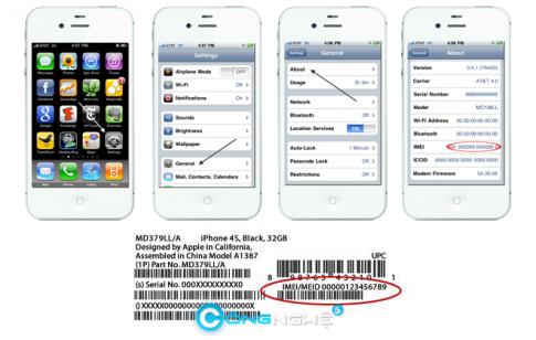 Đổi IMEI iPhone 4 cực nhanh ?