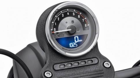Đồng hồ công-tơ-mét đầy phong cách cho xe Harley-Davidson