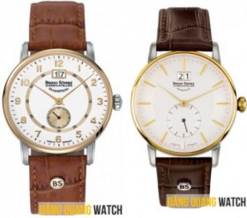 Đồng hồ Đức Bruno Sohnle Glashutte giảm giá lớn.