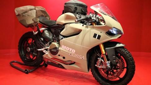 Ducati 1199 Panigale biến hóa thành xe off-road