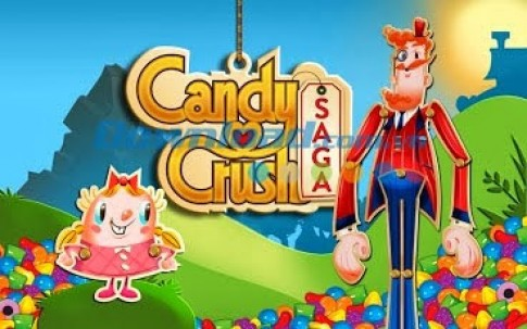 Game Hot Candy Crush Saga Game thế giới kẹo ngọt cho Android