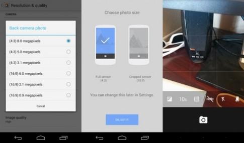 Google camera cải thiện máy ảnh cho Nexus 5
