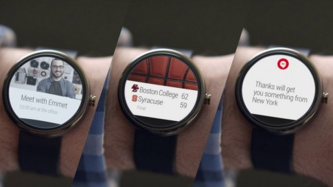 Google's Smartwatch: Motorola và LG sản xuất, Android Wear, cực kì đẹp