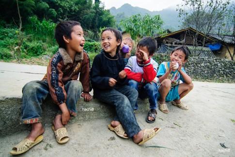 Hà Giang, xuân về trên nụ cười trẻ thơ