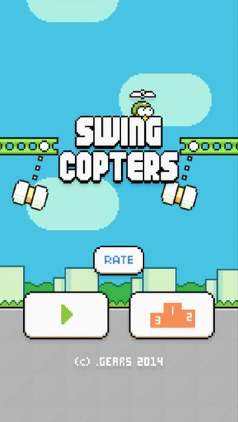 Hack Swing Copters - Không giới hạn điểm cao trên iOS